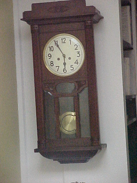 JUNGHANS German Regulator Wall Clock C1910 SOLD on Ruby Lane
