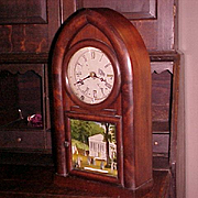 Connecticut Beehive Shelf Clock New Haven C. 1855