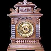"Antique Ansonia Mantel Shelf Clock ""SYRIA"" 1892"