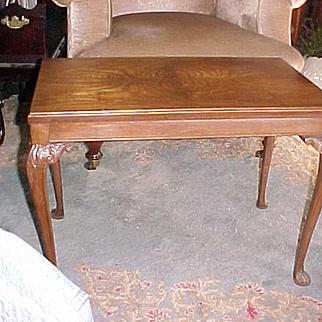 Spider-legged Walnut Coffee Table C-1930