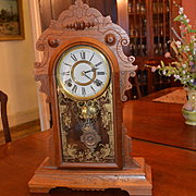 Kitchen Clock E.N. Welch, Exceptional 1890
