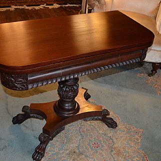 Empire Revival Game Table C. 1880