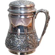 Victorian Pairpoint Silver Plate Muffiner Sugar Shaker Perfect