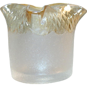 New England Glass Works Victorian Pomona Toothpick Holder