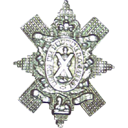 WWI CEF 13th Battalion Montreal Cap Badge