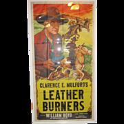 3 Sheet 1943 Hopalong Cassidy Movie Poster