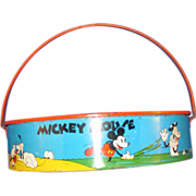 Mickey Mouse Sand Sieve 1930's