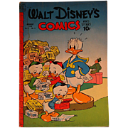 Dell Comic- Walt Disney's Comics- Donald Duck V.9 #11 1949