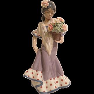 Lladro 5490 Flor Maria