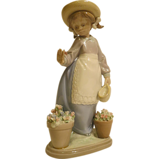 Lladro 5543 Hello Flowers