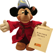 Steiff Mickey Mouse Sorcerer - Red Tag Sale Item