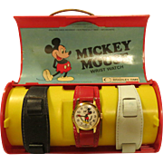 Mickey Mouse Watch Set