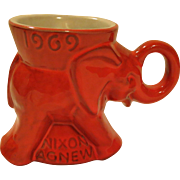 Nixon Agnew 1969 GOP Elephant