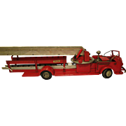 American La France Alfco aerial ladder fire truck by Model Toy Co.