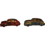 Sun rubber toy cars 1930's