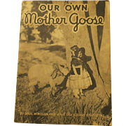 Book 1934 Our Own Mother Goose Book