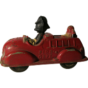 Mickey Mouse Vintage Fire Engine