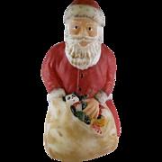 Fenton Hand Painted Santa