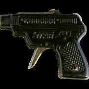 Vintage tin toy cap gun