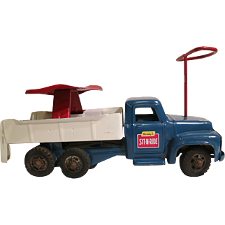Buddy L 1950's Sit-N-Ride Toy Truck