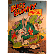 Dell Comic Bugs Bunny and the Dreadful Dragon 1949 #187