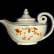 Hall's Jewel Tea Autumn Leaf Aladdin Tea Pot