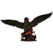 Vintage Hand Carved Eagle