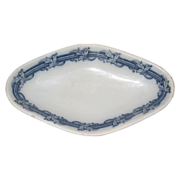 Villeroy and Boch lozenge serving bowl 1890-1910