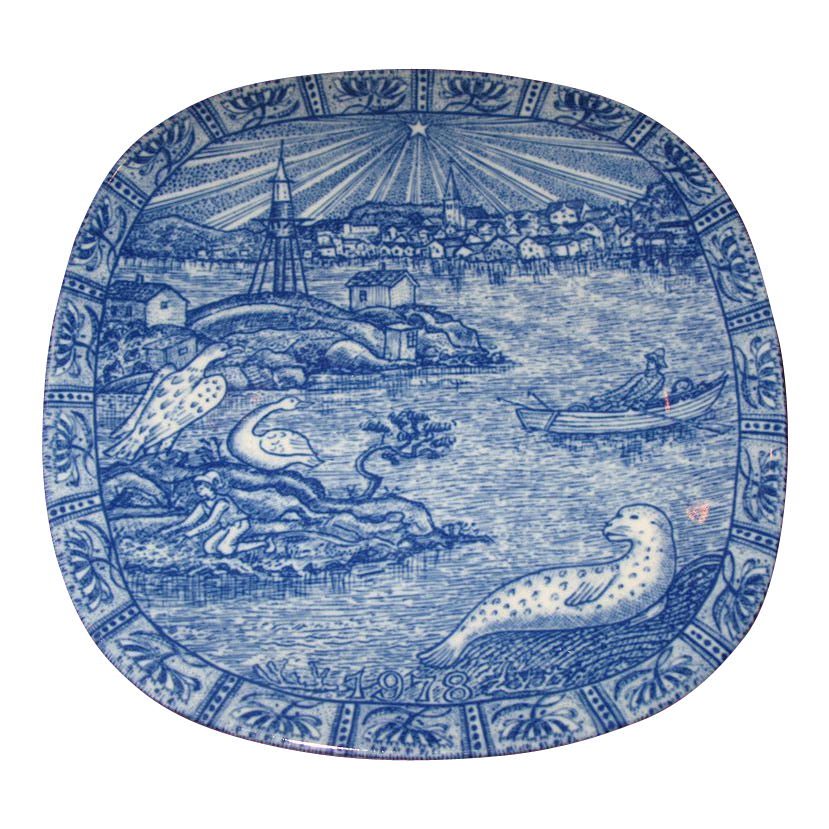 Rorstrand China Co. Collectors Plate