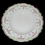 2 W H Grindley & Co soup bowls / Brisbane pattern