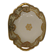 Nippon Royal Crockery (RC) bowl  Stunning gold beading