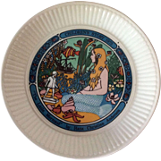 Wedgwood The Little Mermaid plate from the Childrens Stories series of collector plates 1975