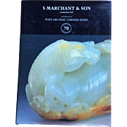 Book:  S. Marchant & Son Post-Archaic Chinese Jades - 70th Anniversary