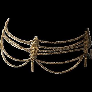 Chain belt festoon from 60s
