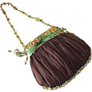 Vintage Mary Frances beaded evening bag