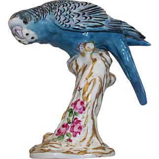 "Royal Worcester "" Parakeet """
