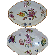 Two Lenox  ' Meissen ' circa 1750-1760 Stands  Smithsonian Institute  replica 1987