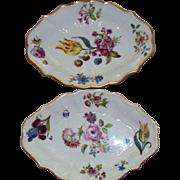 Two Lenox  ' Meissen ' circa 1750-1760 Stands  Smithsonian Institute  replica 1987