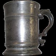 Antique English Pewter Jug