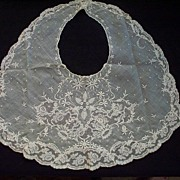 Antique Victorian Lace Collar  Hand-Made