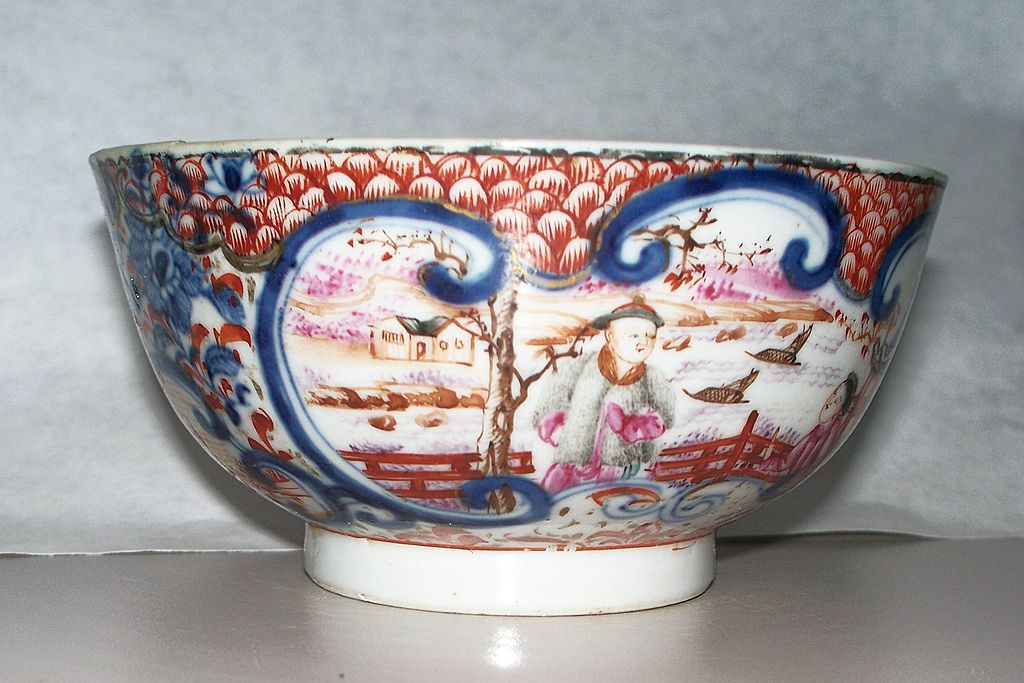 Antique Chinese Mandarin Bowl      ca.1780