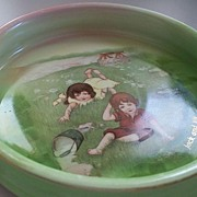 "Royal Bayreuth  Child's Dish/Bowl   ""Jack and Jill """