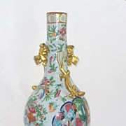 Antique Chinese Mandarin Vase   Ca. 1760