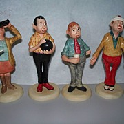 Four Goebel  Figurines by Philip Kraczkowski   circa 1970s