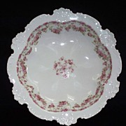Haviland Limoges Bowl with Roses    circa 1910