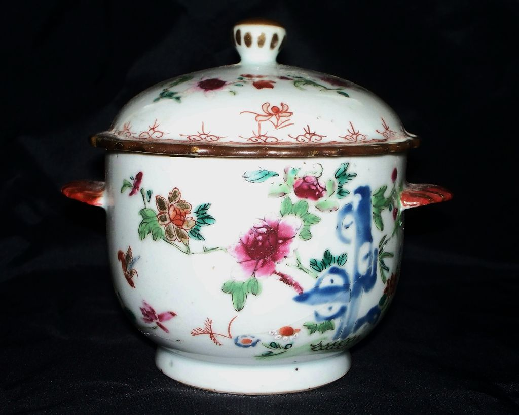 Chinese Rose Famille Kangxi Jar 18th century