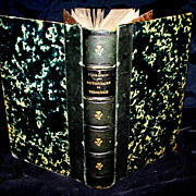 """Antique French """"Dictionnaire Theologie"""" Book  1858"""