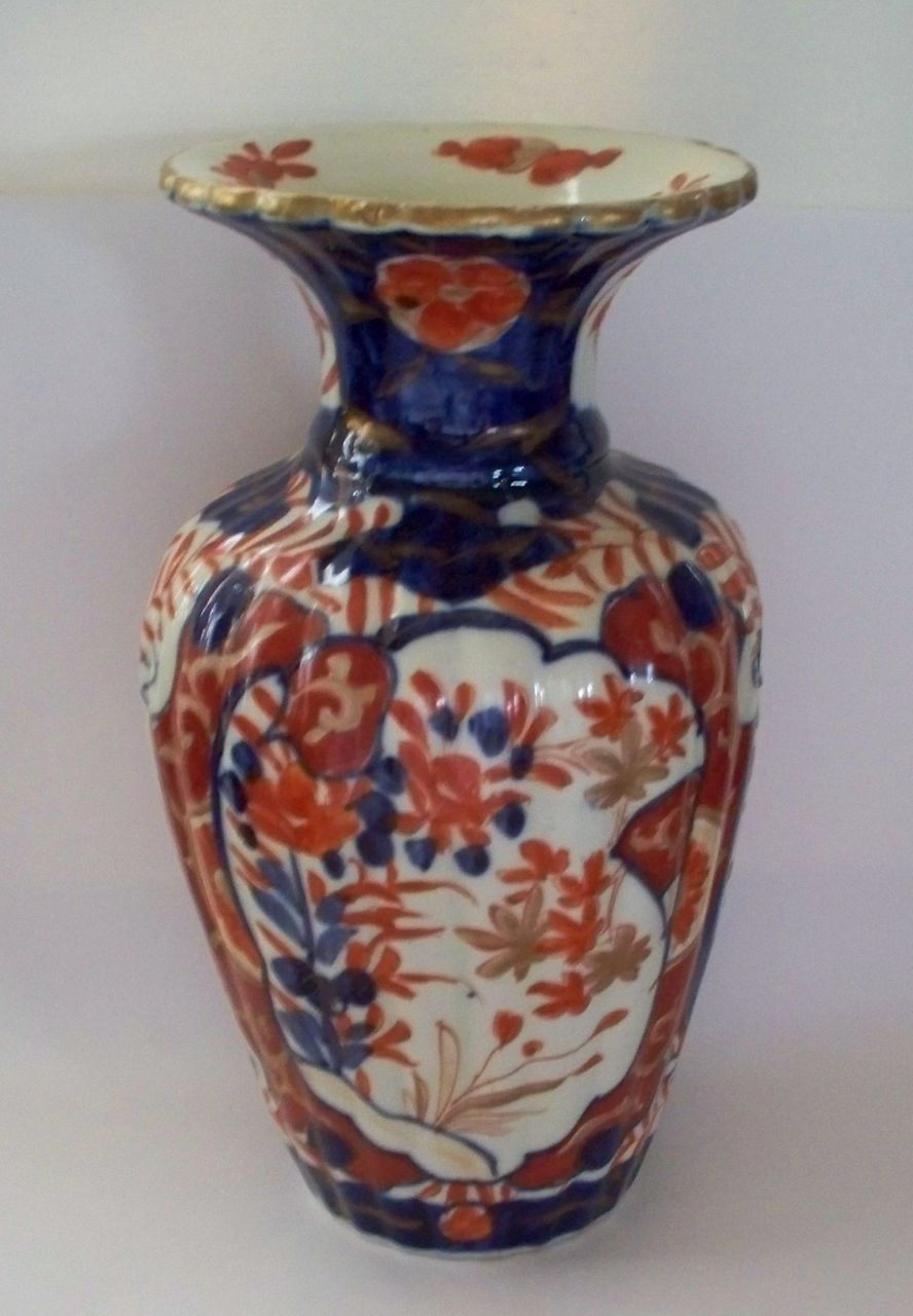 Antique japanese imari fluted lobbed vase ca1890 antique charm antique japanese imari fluted lobbed vase ca1890 antique charm ruby lane reviewsmspy