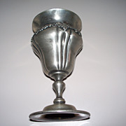 Antique Derby Silverplate Co. Art Nouveau Grape Wine Goblet ca.1900