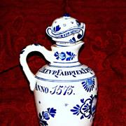 Antique Delft 'Porceleyne Fles' Jug/Pitcher   circa 1880... perfect